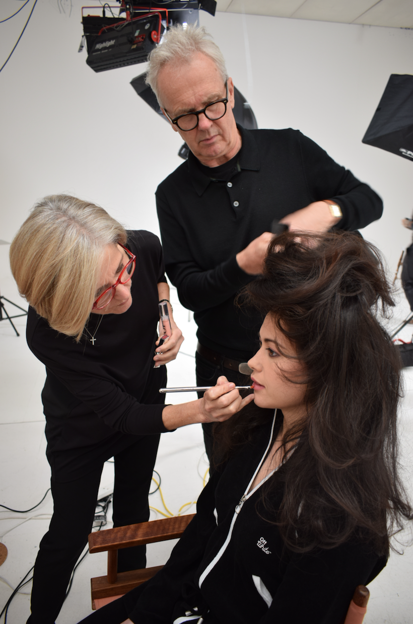 Sam Quek: Behind The Scenes Andrew and Liz working with Sam Quek on a photoshoot