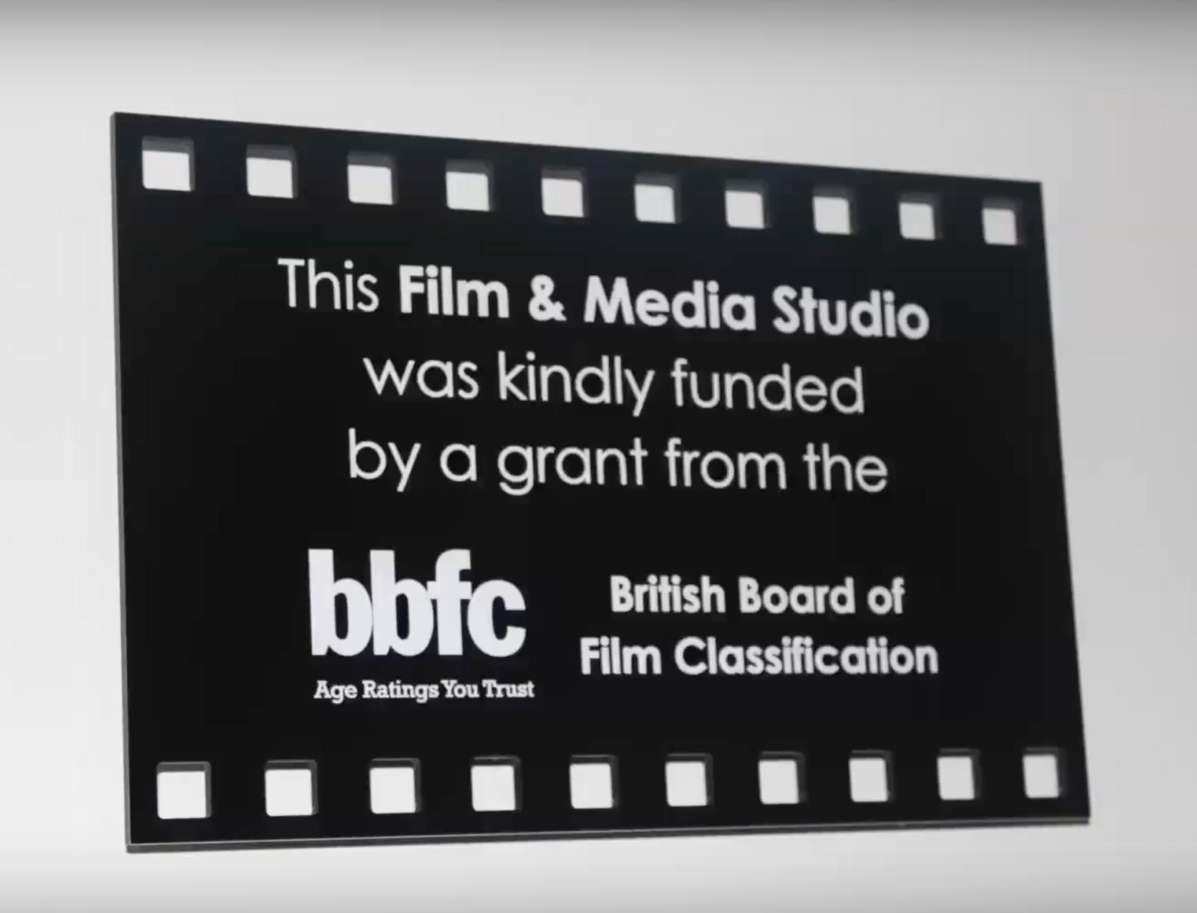 bbfc Film and Media Studio