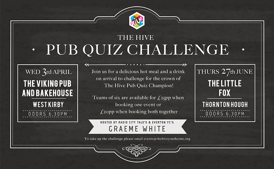 Vi-going for Gold in Hive Pub Quiz Challenge