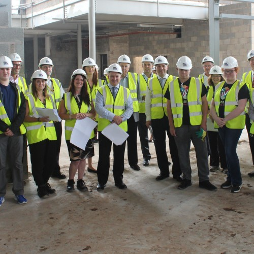 Wirral Capital Funders visit - cropped
